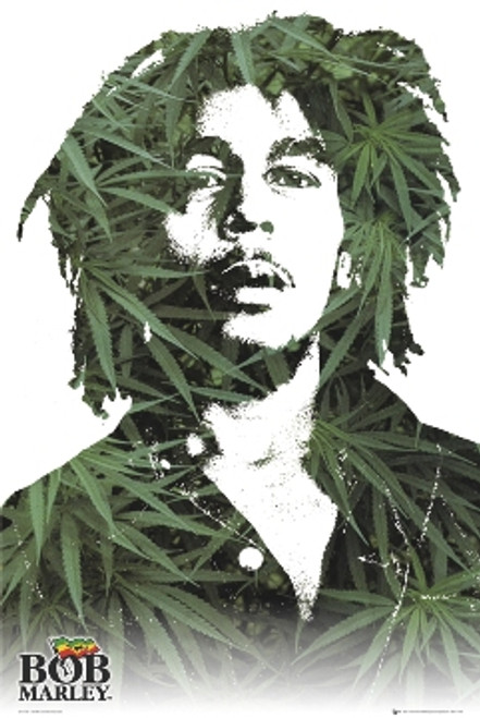 Image for Bob Marley Poster - Leaves