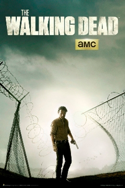 Image for The Walking Dead Poster - Season 4 Key Ad Art