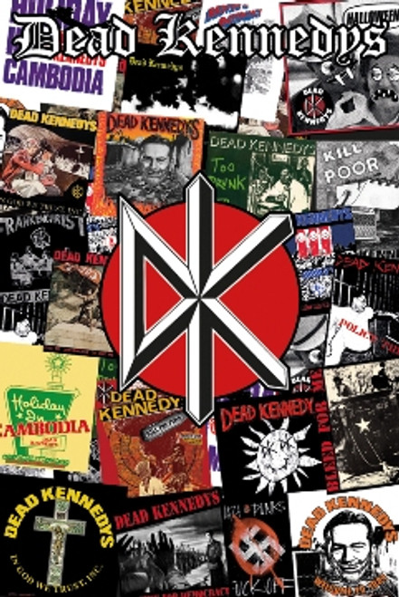 Image for Dead Kennedys Poster - Collage