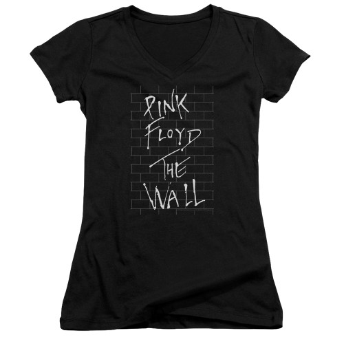 Image for Roger Waters Girls V Neck - The Wall on Black