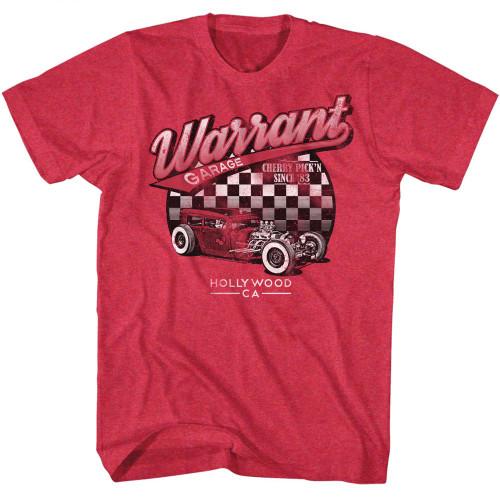 Image for Warrant T-Shirt - Garage