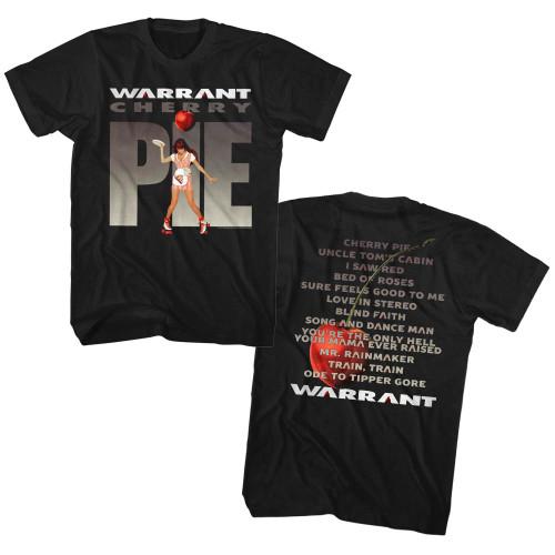 Image for Warrant T-Shirt - Cherry Pie Album