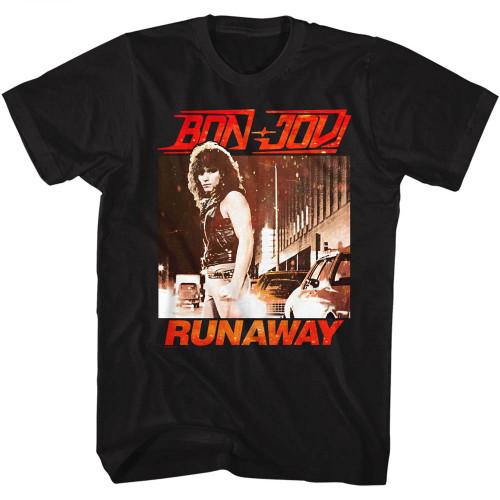 Image for Bon Jovi T-Shirt - Runaway