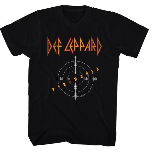 Image for Def Leppard T-Shirt - Classic Pyromania Album Cover