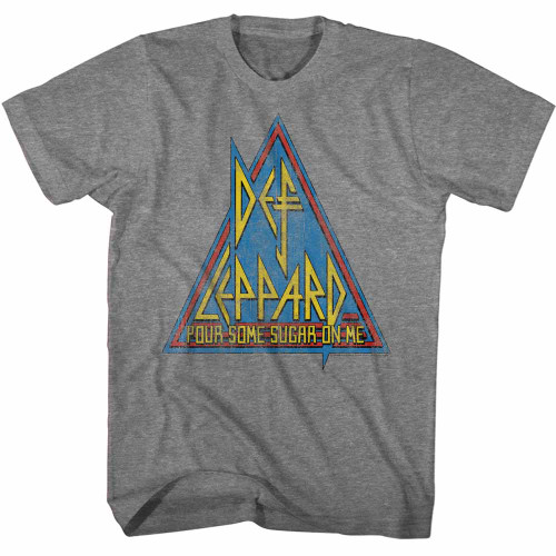 Image for Def Leppard T-Shirt - Primary Triangle