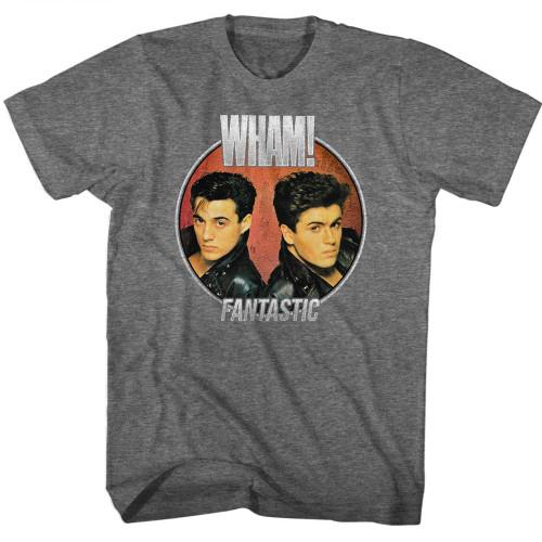 Image for Wham! T-Shirt - Fantastic Circle