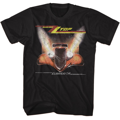 Image for ZZ Top T-Shirt - Crackle