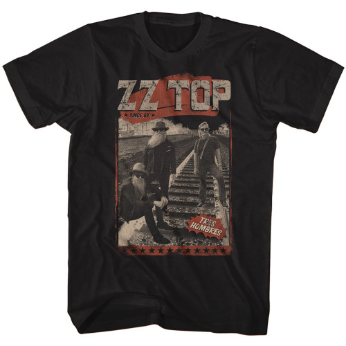 Image for ZZ Top T-Shirt - Hombres Track