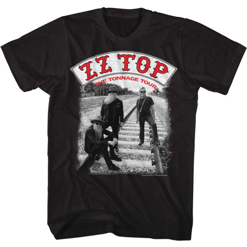 Image for ZZ Top T-Shirt - Tonn Tour