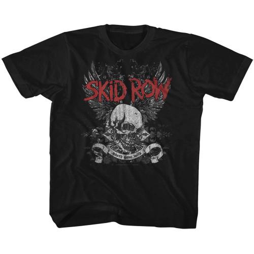 Image for Skid Row Skull & Wings Toddler T-Shirt
