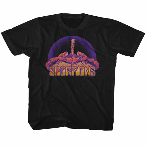 Image for Scorpions Bright Scorpion Youth T-Shirt