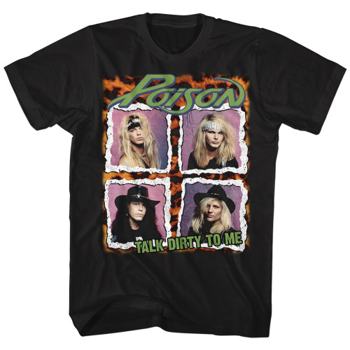 Image for Poison T-Shirt - Squares