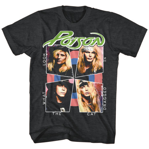Image for Poison T-Shirt - Cat Dragged In