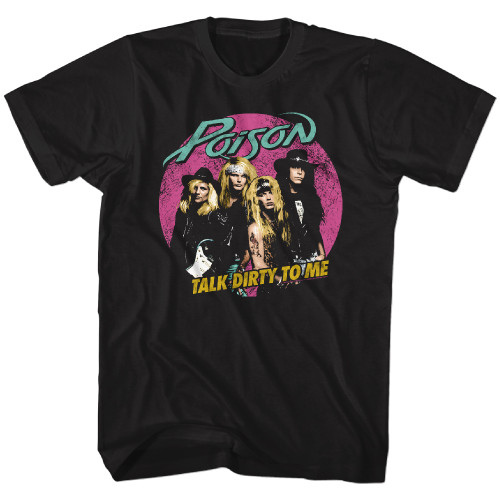 Image for Poison T-Shirt - Pink Circle