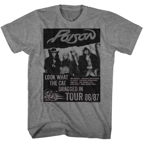 Image for Poison T-Shirt - Look What Tour
