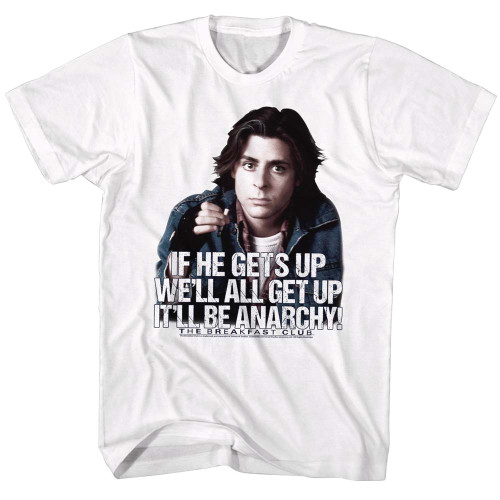Image for The Breakfast Club T-Shirt - It'll be Anarchy