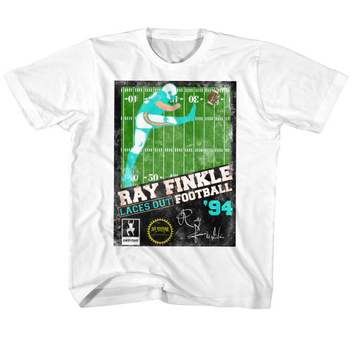 Image for Ace Ventura Pet Detective Ray Finkle Football Youth T-Shirt