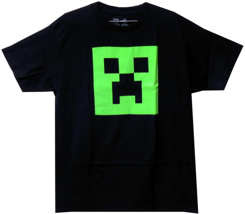 Image for Minecraft Youth T-Shirt - Creeper Face