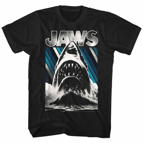 Image for Jaws T-Shirt - Monotone Attack