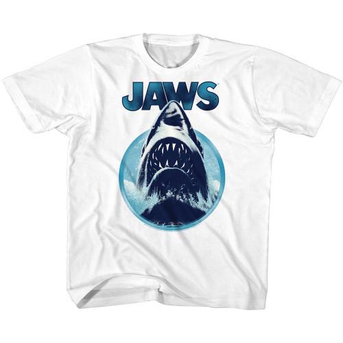 Image for Jaws Jaws Circle Attack Toddler T-Shirt