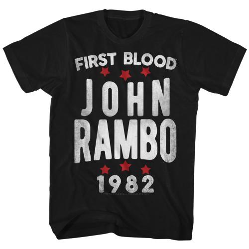 Image for Rambo T-Shirt - Stars