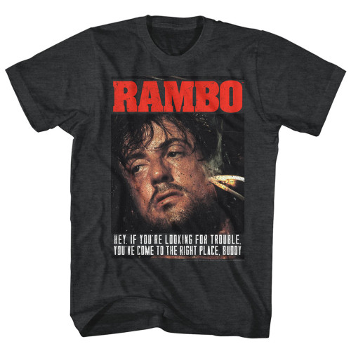 Image for Rambo T-Shirt - Gimme Dat Sizzle
