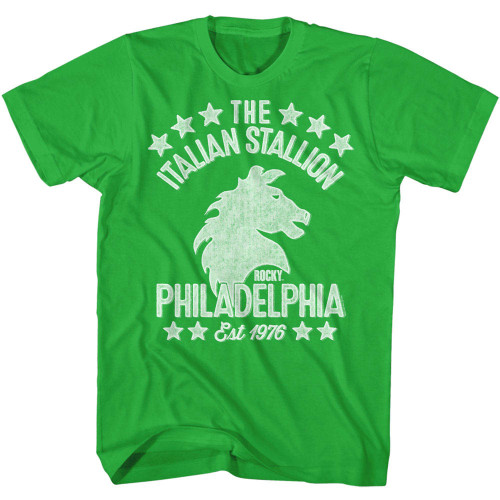 Image for Rocky T-Shirt - Italian Stallion Logo