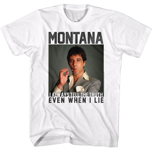 Image for Scarface T-Shirt - Montana