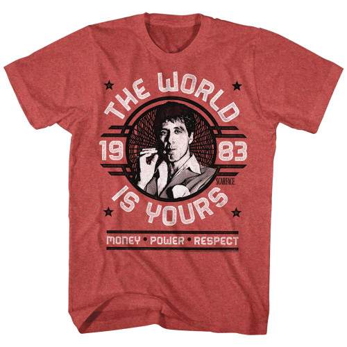 Image for Scarface T-Shirt - World is Yours Emblem