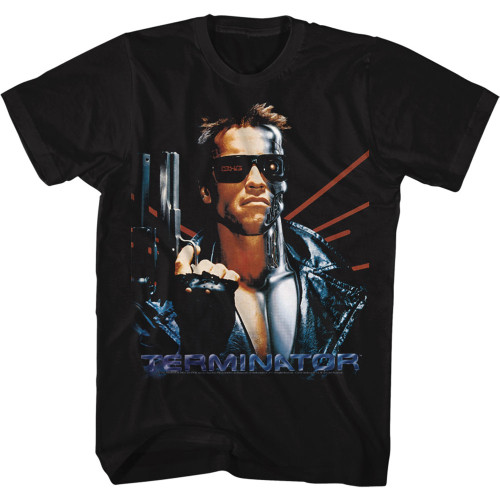 Image for The Terminator T-Shirt - Laser Back