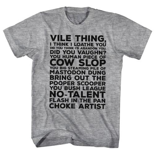 Image for Major League T-Shirt - Vile