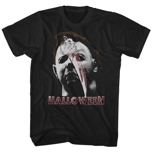 Image for Halloween T-Shirt - Mask & Knife