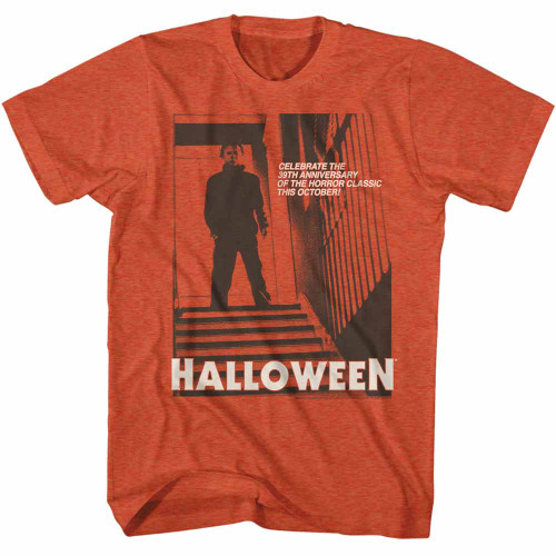 Image for Halloween T-Shirt - Monotone Stairs