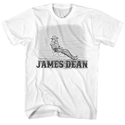 Image for James Dean T-Shirt - Chair Fence