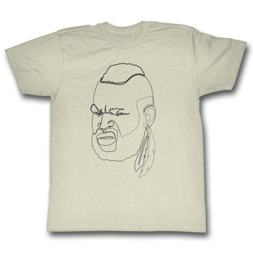 Image for Mr. T T-Shirt - One Line
