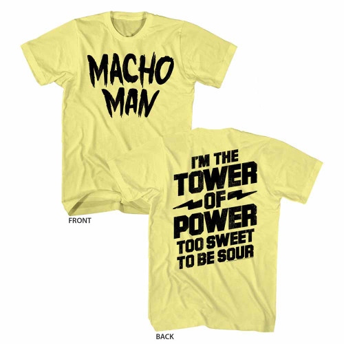 Image for Macho Man T-Shirt - Tower