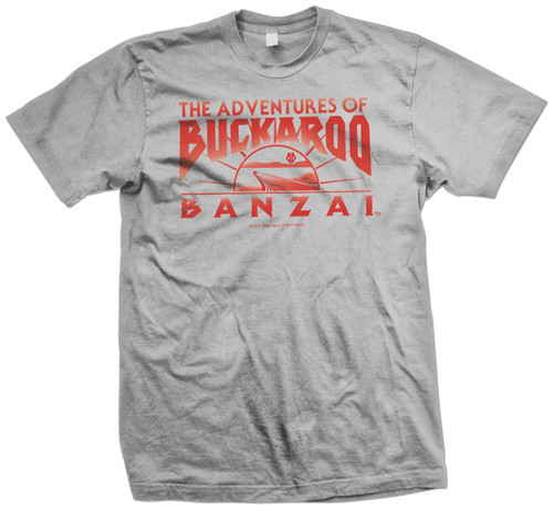 Image for Buckaroo Banzai Across the 8th Dimension Movie Logo T-Shirt
