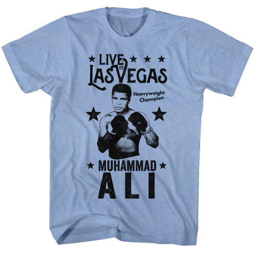 Image for Muhammad Ali T-Shirt - Live in Vegas