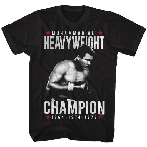 Image for Muhammad Ali T-Shirt - Heavy Champ
