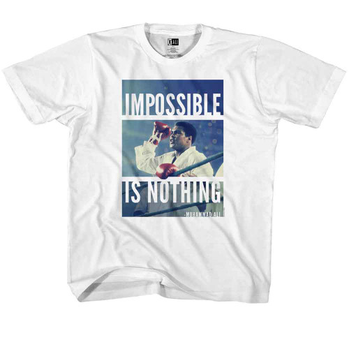 Image for Muhammad Ali Impossible is Nothing Youth T-Shirt