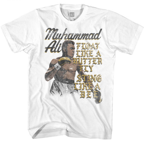 Image for Muhammad Ali T-Shirt - Float Sting