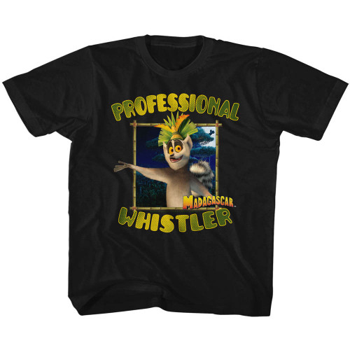 Image for Madagascar Professional Whistler Youth T-Shirt