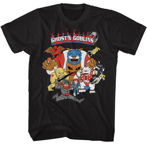 Image for Ghost 'n Goblins T-Shirt - Goblin Crowd