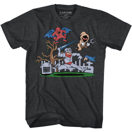 Image for Ghost 'n Goblins T-Shirt - Graveyard