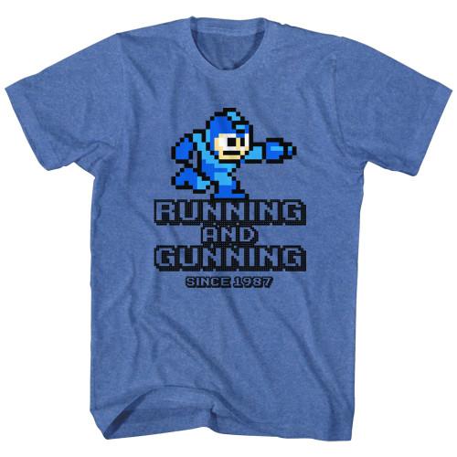 Image for Mega Man T-Shirt - Running and Gunning