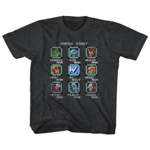 Image for Mega Man Stage Select Toddler T-Shirt