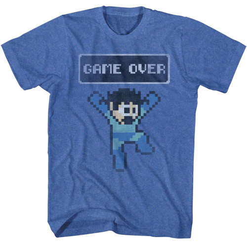 Image for Mega Man T-Shirt - Game Over