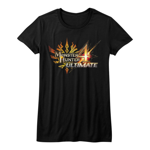 Image for Monster Hunter Girls T-Shirt - MH4 Logo