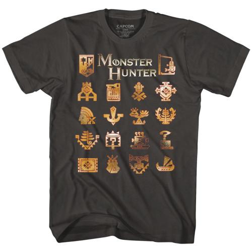 Image for Monster Hunter T-Shirt - Crests