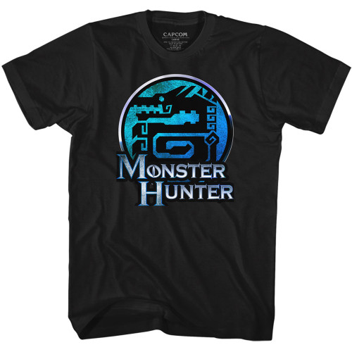 Image for Monster Hunter T-Shirt - Crest Logo